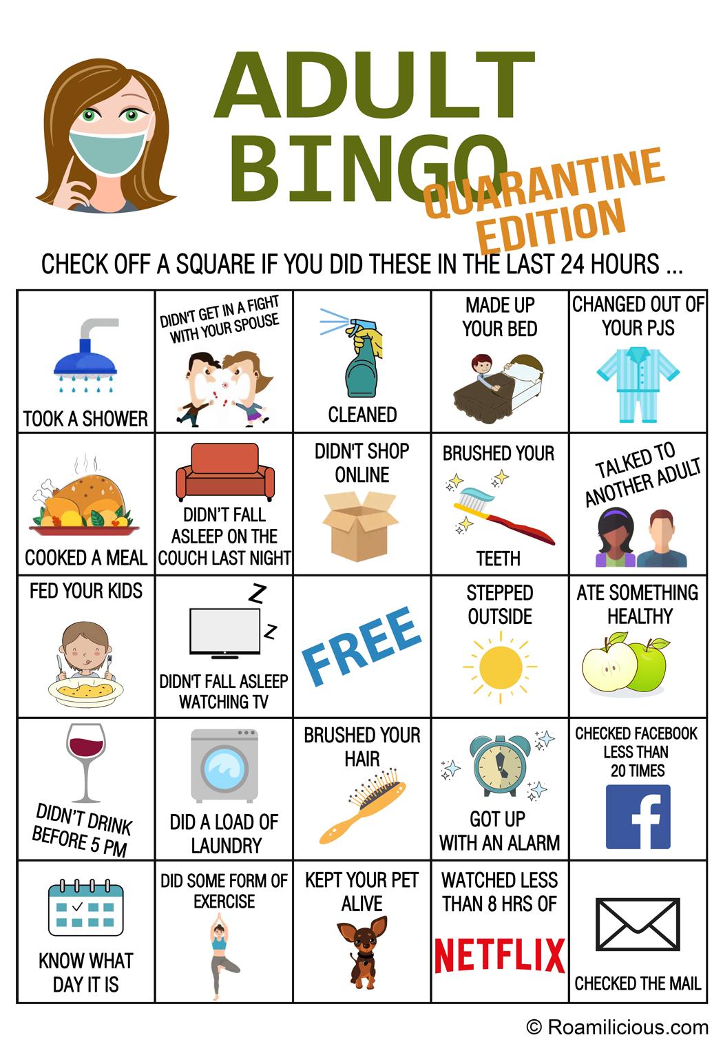 Adult-Bingo-Quarantine Edition-roamilicious
