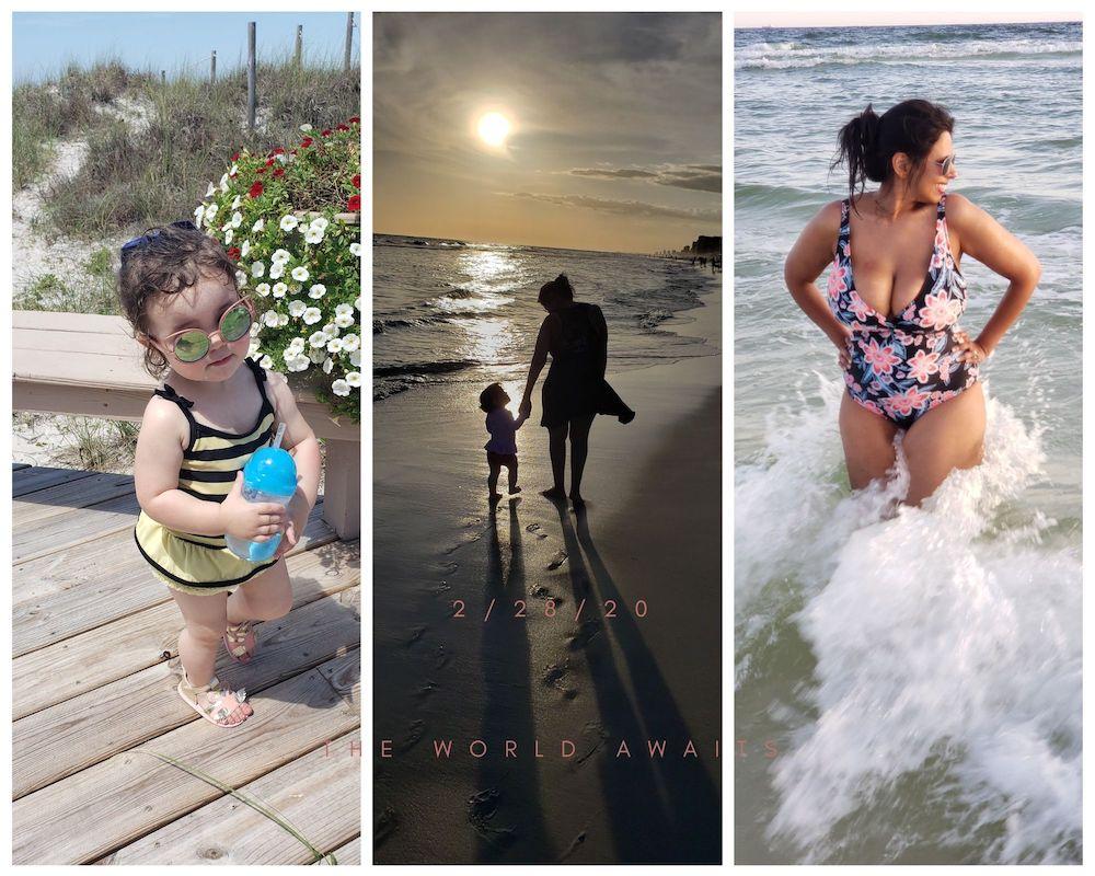 2021 family beach trip buick envision roamilicious
