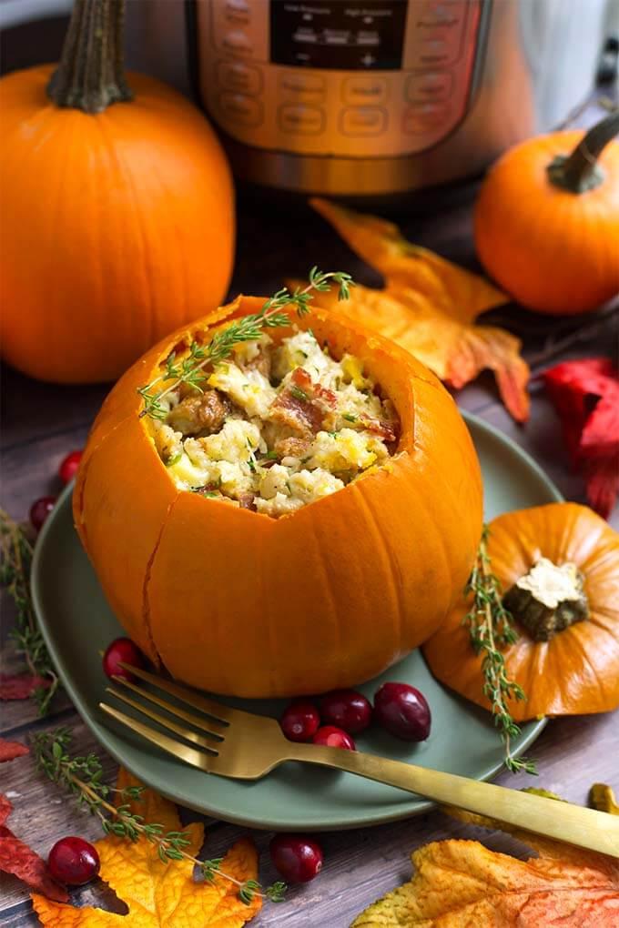 Instant-Pot-Stuffed-Pumpkin-Recipe