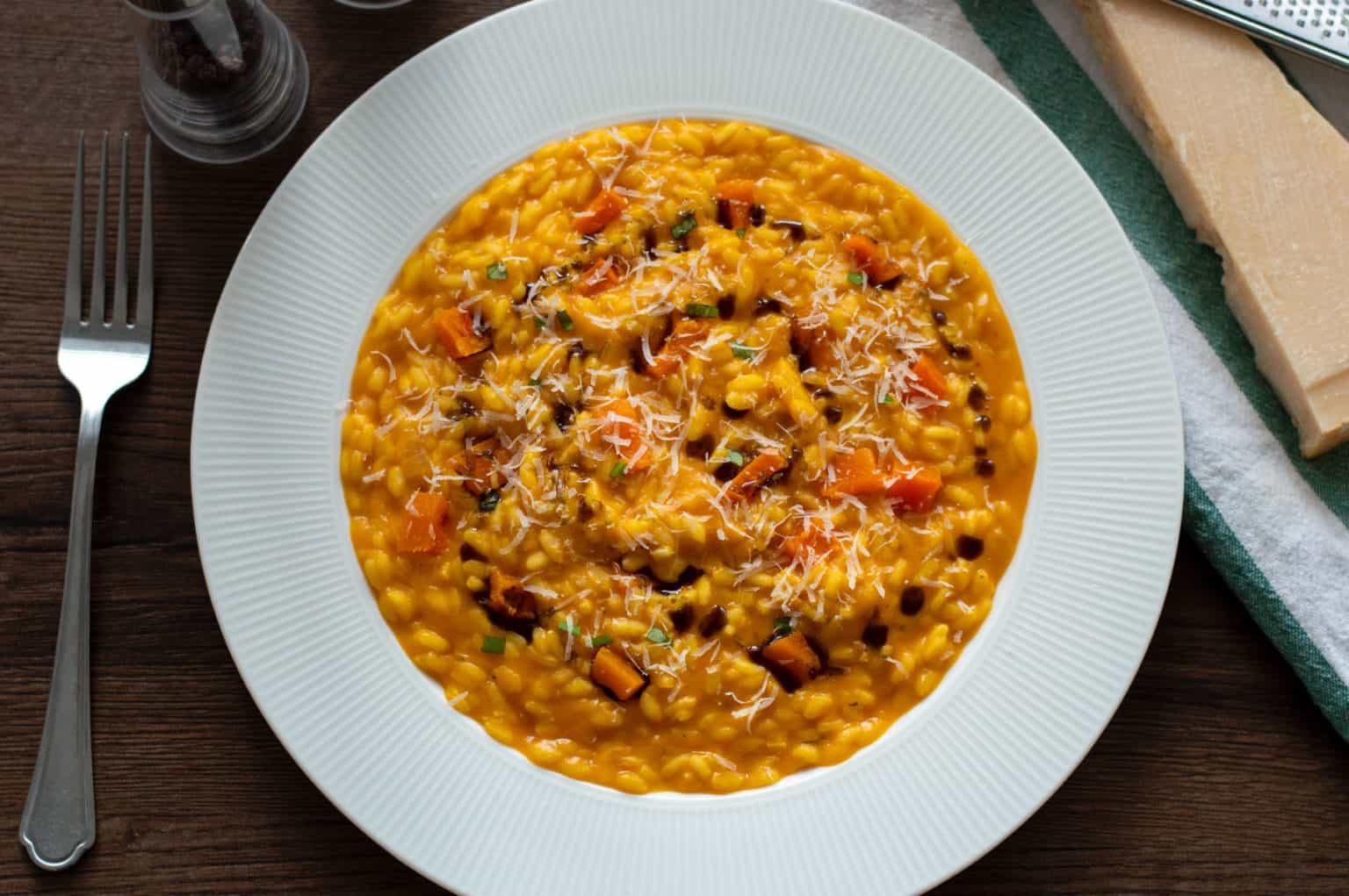 Pumpkin Risotto-Recipe