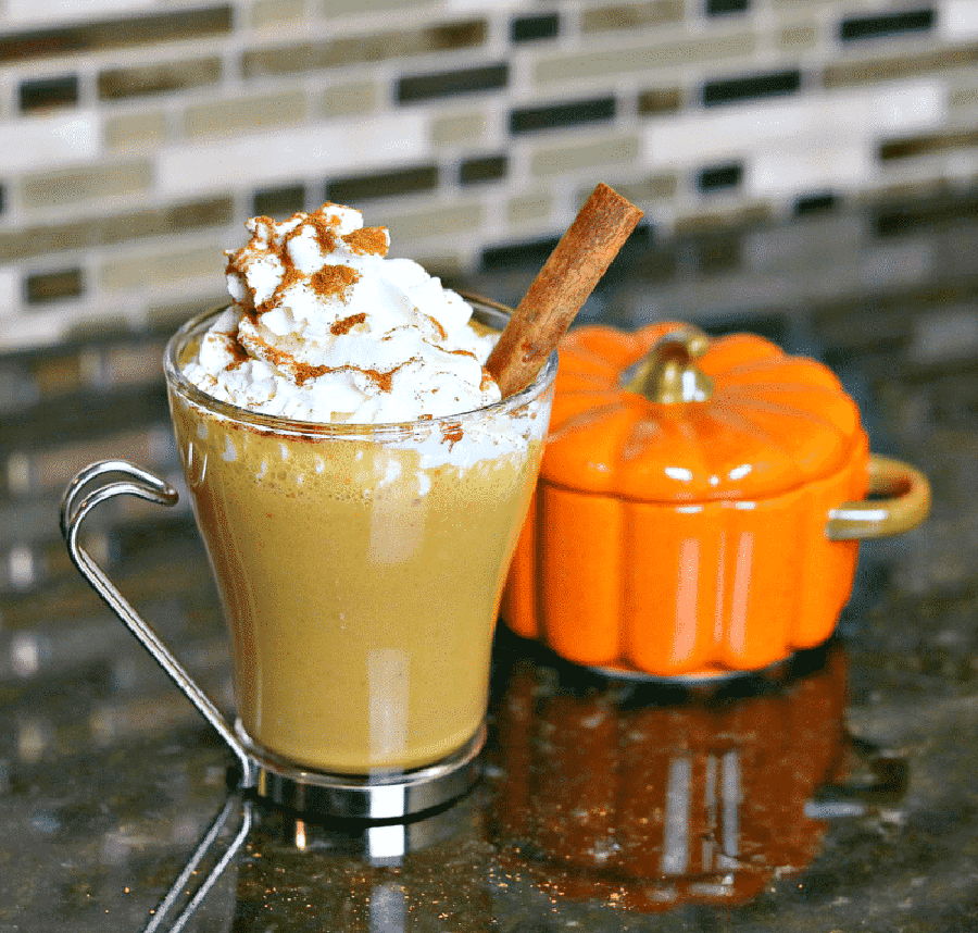 Low Carb Pumpkin Spice Latte